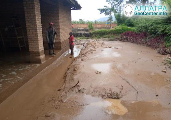 Záplavy a zosuvy vo Rwande, marec 2020