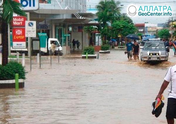 Záplavy na Fidži, marec 2020