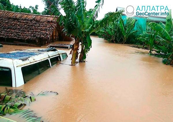 Záplavy na Madagaskare, január 2020
