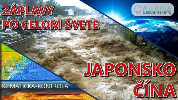 Záplavy po celom svete. Japonsko, Čína, USA, Keňa, Rusko. Klimatické zmeny 106