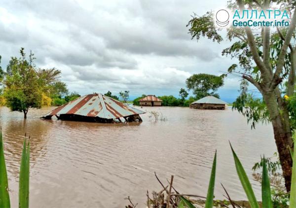 Záplavy v Afrike, apríl 2020