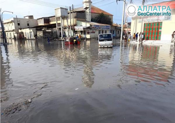 Záplavy v Afrike, november 2020