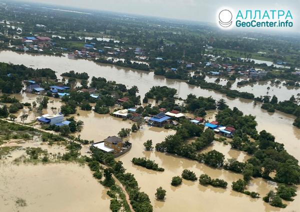 Záplavy v Ázii, koniec októbra 2020