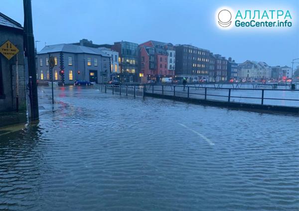 Záplavy v Európe, október 2020