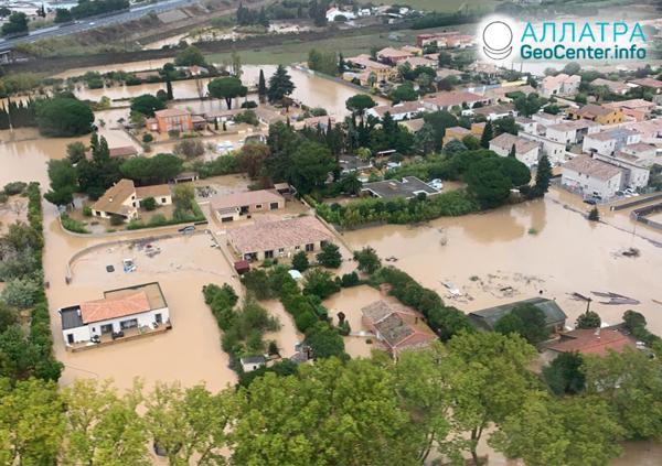 Наводнения в Европе, октябрь 2019