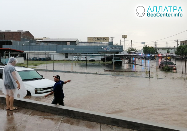 Наводнения в Мексике, сентябрь 2019