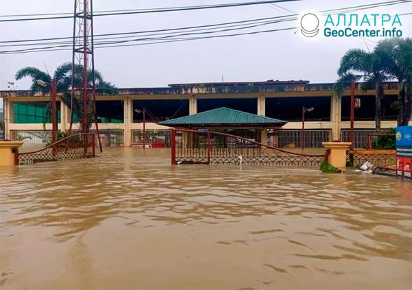 Наводнения в мире, конец апреля 2021