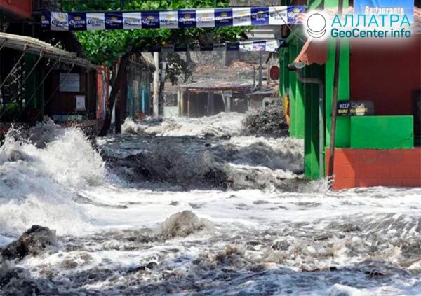 Наводнения в мире в третьей декаде апреля 2021