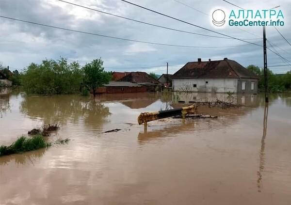Záplavy vo svete, druhá dekáda mája 2021
