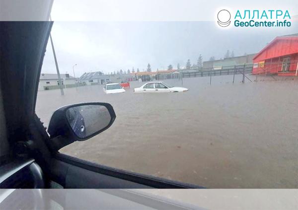 Наводнения в мире, вторая декада ноября 2020