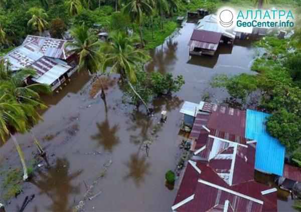 Záplavy na Srí Lanke, december 2019