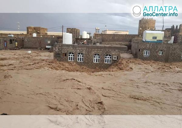 Наводнения в странах мира: Йемен, Иран, Конго, Пакистан, Афганистан, Индонезия, апрель 2020