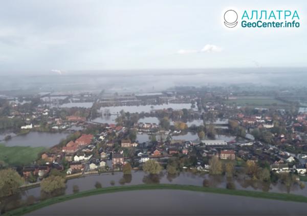 Záplavy vo Veľkej Británii, november 2019