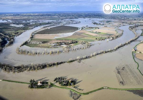 Záplavy vo Francúzsku, december 2019
