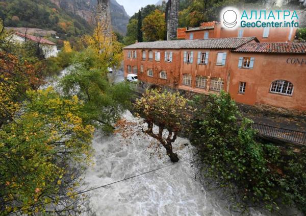 Záplavy vo Francúzsku, november 2019