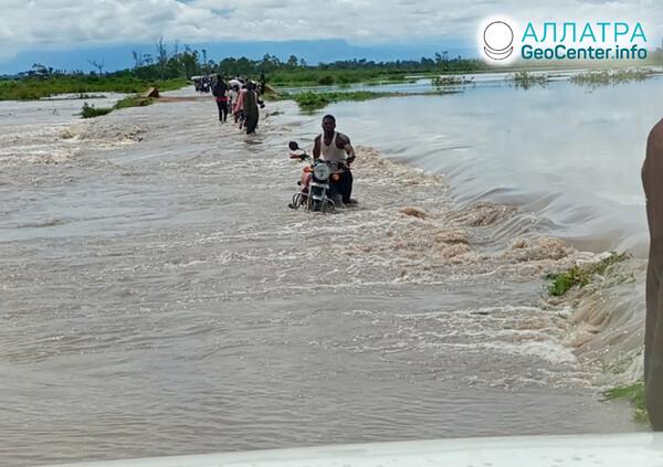 Наводнения, вторая декада мая 2021