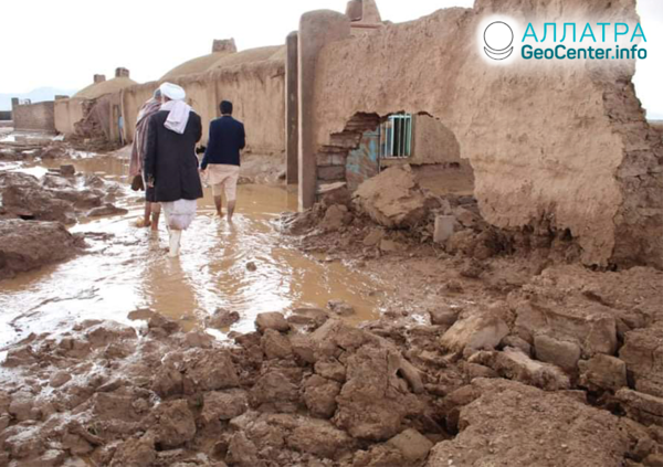 Наводнения в Афганистане, март 2020 года