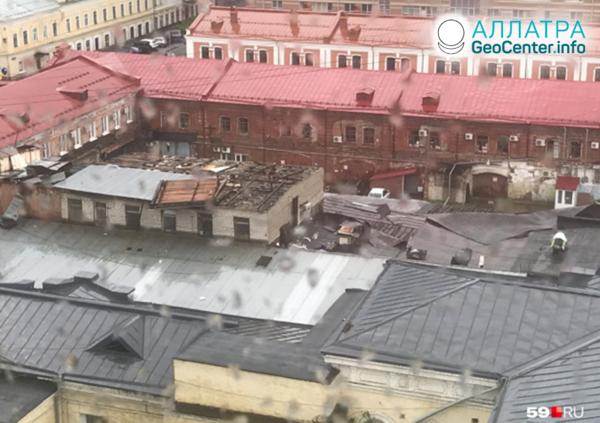 Nečas v mestách Ruska, júl 2019