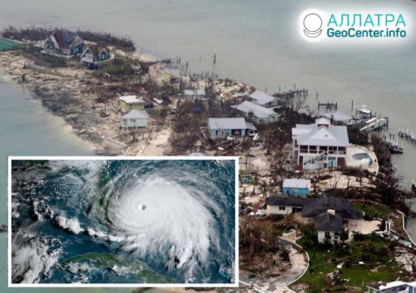 """Nepredvídateľnosť hurikánu """"Dorian"""", september 2019"""