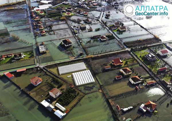 Zosuvy a záplavy, január 2021