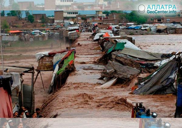 В Пакистане «июльский» сезон дождей начался в апреле 2019