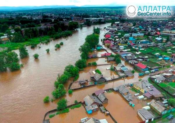Povodeň v Chabarovskom kraji, august, 2019