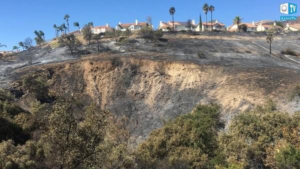 Последствия пожаров в Калифорнии (США), октябрь 2019