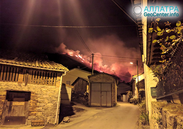 Пожары в Испании, март 2019