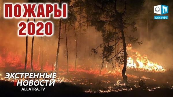 Природные пожары в России и Южной Америке. Шторм Дельта в США. Тропический шторм Линфа → Вьетнам