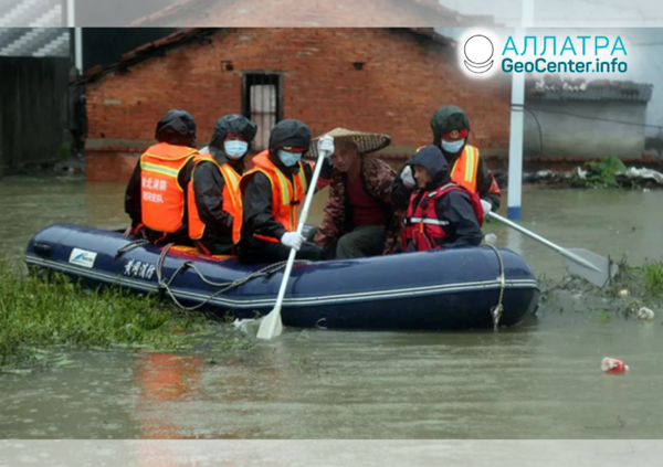 Разрушительные наводнения, июль 2020