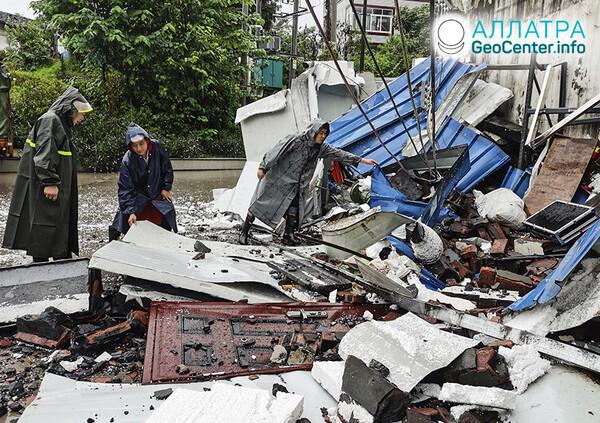 Разрушительные землетрясения, 13-16 сентября 2021