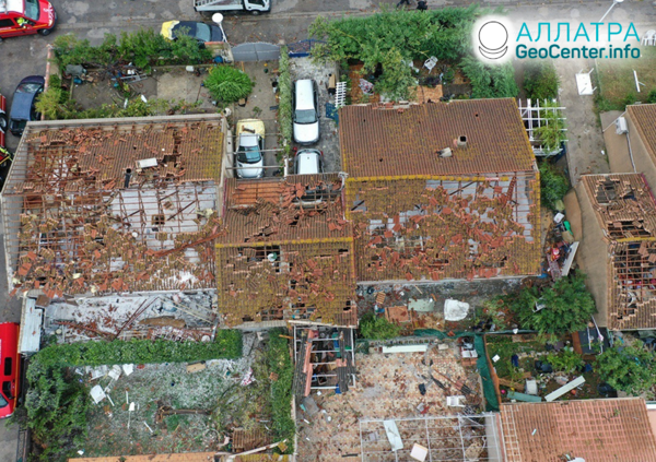 Разрушительный торнадо во Франции, октябрь 2019