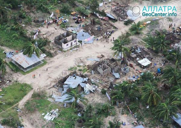 "Ničivý tropický cyklón ""Kenneth"", apríl 2019"