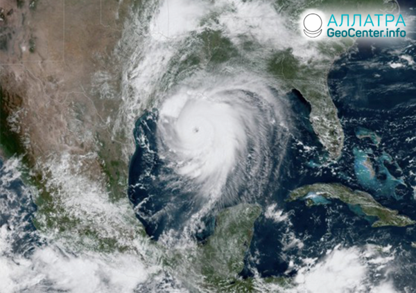 "Pustošivý hurikán ""Laura"", august 2020"