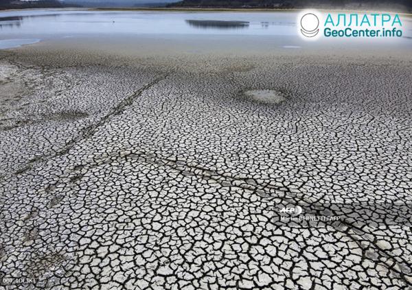 Rekordné sucho v Čile, apríl 2020