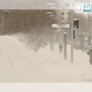 Rekordné sneženie v Kazachstane, január 2020