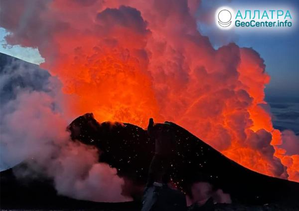 Рост вулканической активности, конец февраля-начало марта 2021