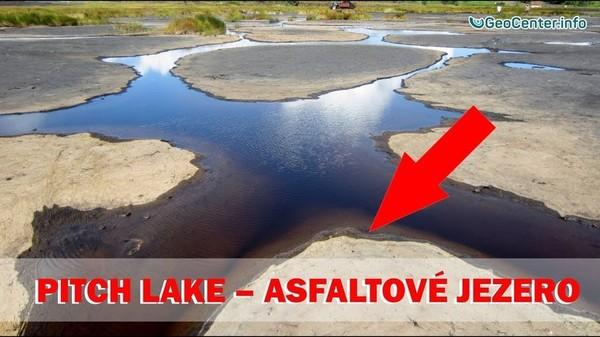Pitch Lake – Nejslavnější asfaltové jezero. Klimatické události ve světě 11.11.-17.11.2017 (89 vydání)