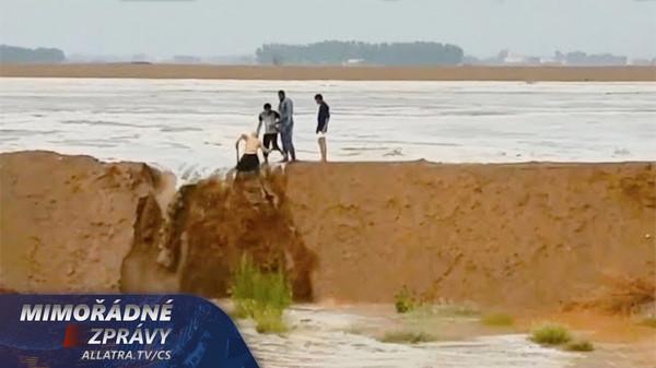 Klimatické předpovědi se naplňují. Záplava v poušti. Zemětřesení, globální oteplování