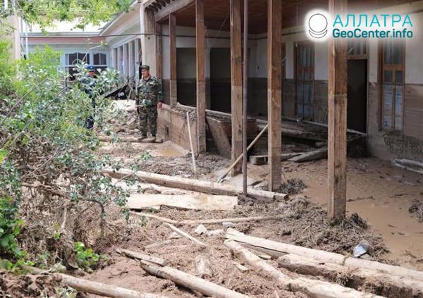 Селевые паводки в Таджикистане, июнь 2019