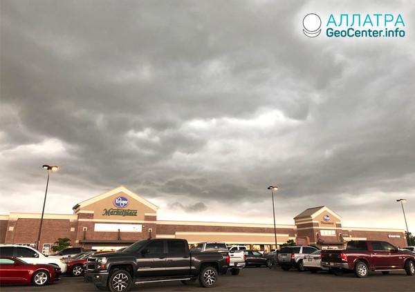 Búrka na Stredozápade USA, máj 2019