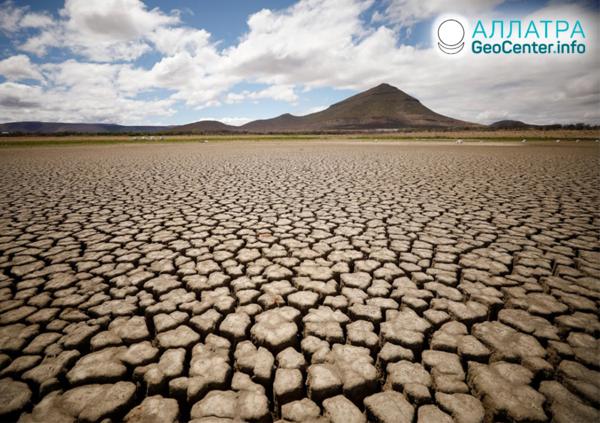 Сильнейшая засуха в Африке, декабрь 2019