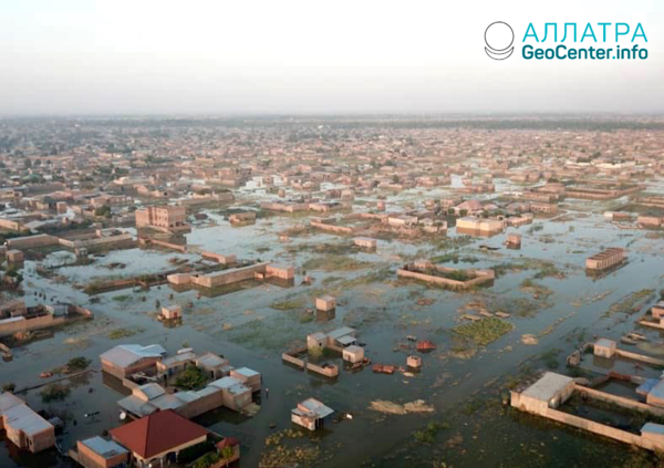Silné záplavy na planéte, začiatok novembra 2020
