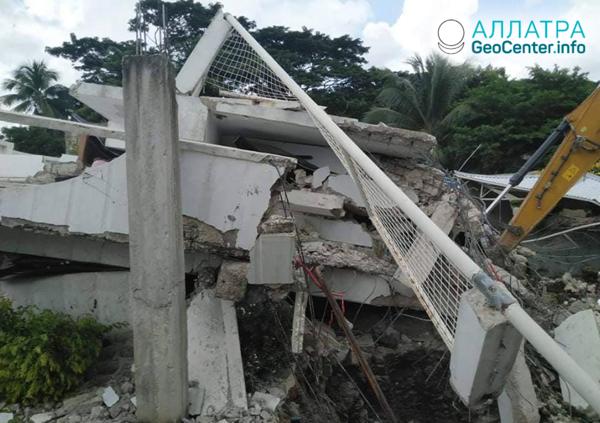 Silné zemetrasenia v Ázii a Afrike, august 2020