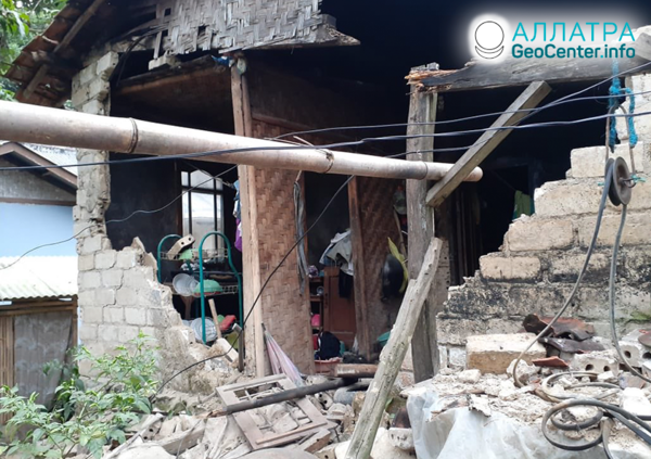 Silné zemetrasenia v Indonézii, marec 2020