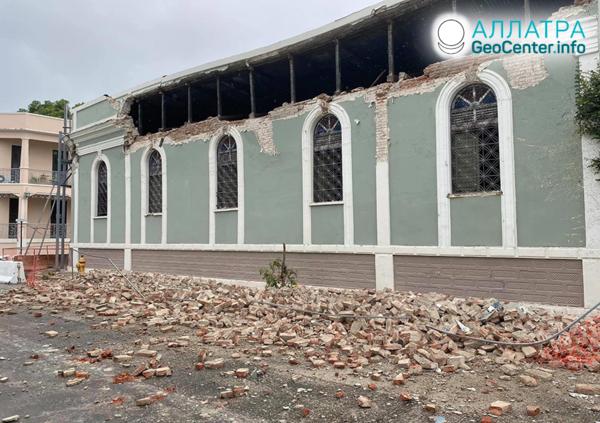Silné zemetrasenia 2. mája 2020