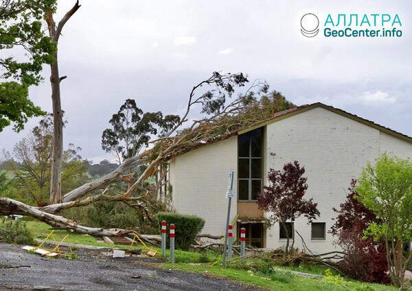 Торнадо на Земле, вторая неделя октября 2021