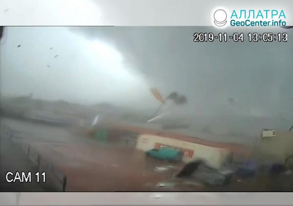 Торнадо в Греции, ноябрь 2019