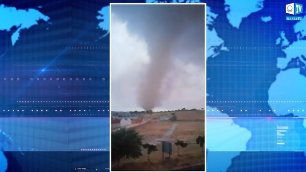 Торнадо в Испании 27 августа 2019. Климат глазами очевидцев