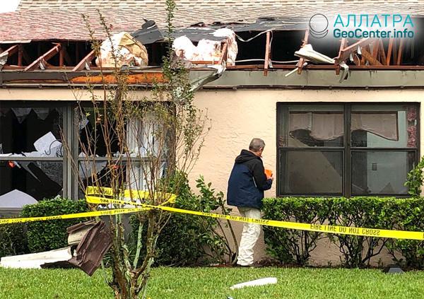 Торнадо во Флориде, декабрь 2018